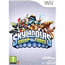WII: SKYLANDERS SWAP FORCE (SOFTWARE ONLY) (NM) (COMPLETE)